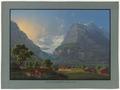 CH-NB - Grindelwald, unterer Gletscher, von Grindelwald aus mit Eiger - Collection Gugelmann - GS-GUGE-BLEULER-1-19.tif