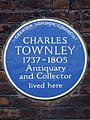 CHARLES TOWNLEY 1737-1805 Antiquary and Collector lived here.jpg