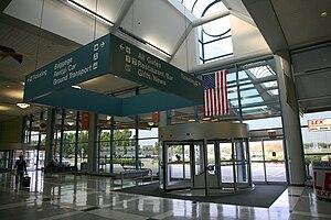 University of Illinois Willard Airport - Terminal building at Willard Airport