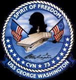 CVN-73 insignia