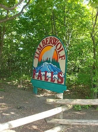 Timberwolf Falls - Image: CW White Water Canyon Timberwolf Falls a