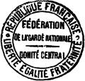 Cachet Fédération Garde Nationale - T12p356.png