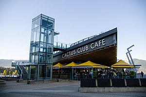Cactus Club Cafe - Cactus Club Cafe at Coal Harbour in Vancouver
