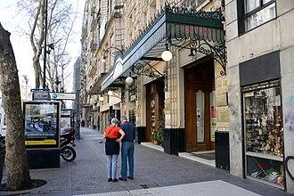 Café Tortoni - Image: Cafe Tortoni Av de Mayo 825