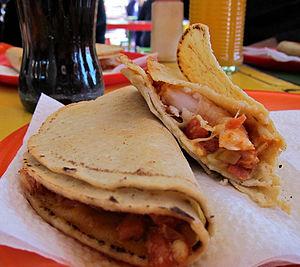 Cahuamanta - Cahuamanta in taco form