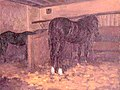 Caillebotte - Horses in the Stable, circa 1874.jpg