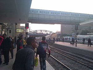 Ramses Station - Image: Cairo Train Station