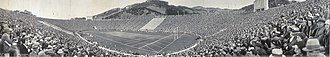 California Golden Bears football - The 1930 Big Game at Memorial Stadium