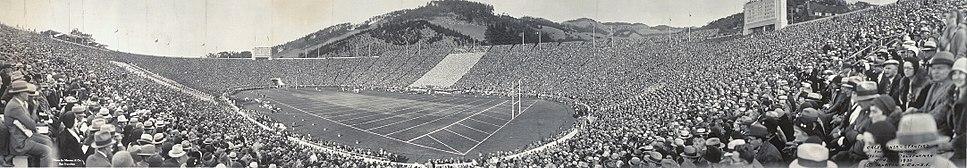 Cal, Stanford football game, Memorial Stadium, 1930
