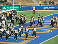 Cal Band performing pregame at EWU at Cal 2009-09-12 1.JPG