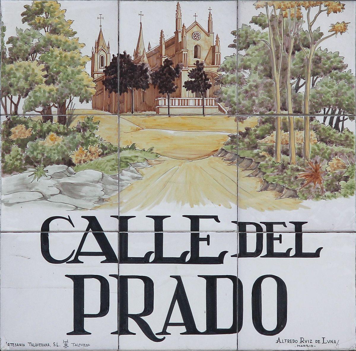 Calle del prado wikipedia la enciclopedia libre for Calle prado jerez 3 navacerrada