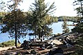 Campsite on lake 3. - panoramio.jpg