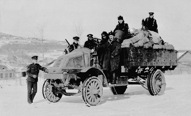 Canadian Siberian Expeditionary Force in Vladivostok 1919