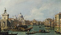 Canaletto - The Grand Canal from the Salute towards the Carità RCIN 400519.jpg