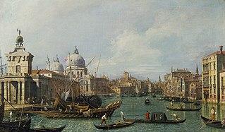 Venise: le Grand Canal de la Salute vers la Carità