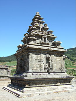 Candi Arjuna side view.jpg