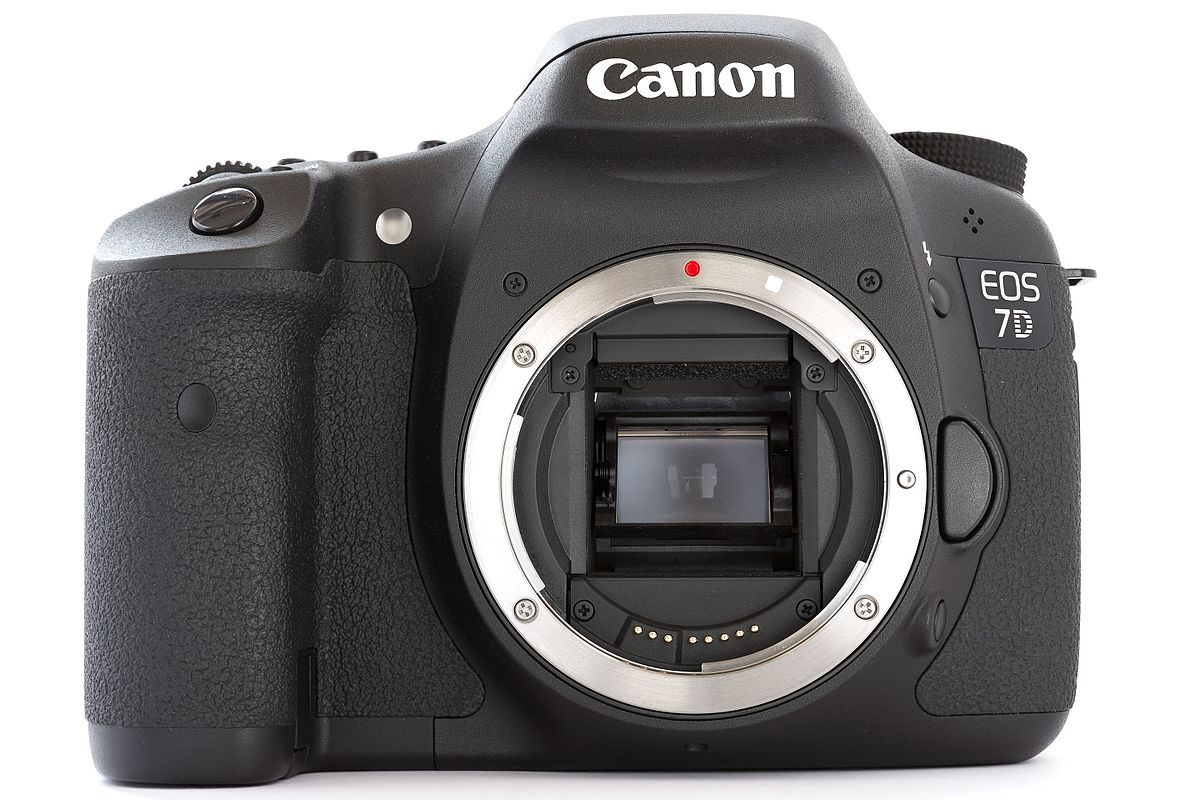 1200px Canon_EOS_7D_DSLR_body_front canon eos 7d wikipedia