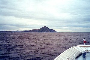 Cape Horn - Approaching Cape Horn from the south-west.