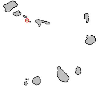 Ilhéu Branco Island of Cape Verde