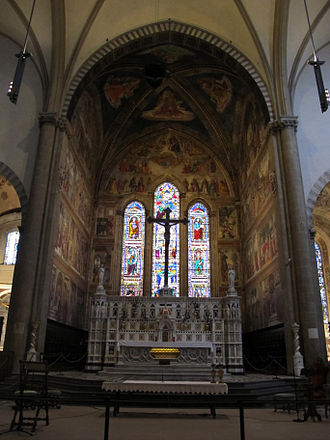 Tornabuoni Chapel - View of the Tornabuoni Chapel