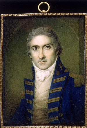 Edward Riou - Edward Riou, miniature, by Samuel Shelley