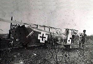 Captured Hannover CL.III near Franvilliers 1918.jpg