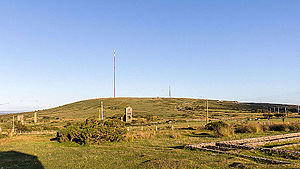 Caradon Hill transmitting station - Image: Caradon Hill, Cornwall 9077