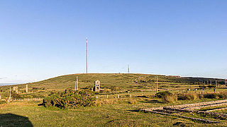 Caradon Hill transmitting station