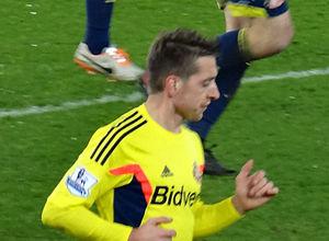 Emanuele Giaccherini - Giaccherini playing for Sunderland in 2013