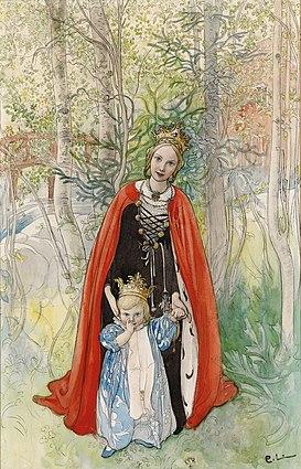 Carl Larsson Spring Princess 1898
