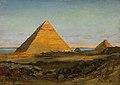Carl Wuttke Die Pyramiden von Gizeh 1906.jpg