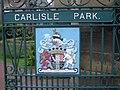 Carlisle Park and Coat of Arms - geograph.org.uk - 943732.jpg
