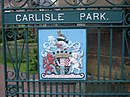 Carlisle Park and Coat of Arms - geograph.org.uk - 943732.jpg
