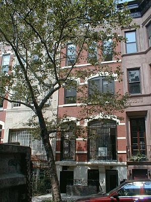 Carnegie Hill - Carnegie Hill townhouses, turn of the 20th century