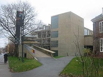 Carpenter Center for the Visual Arts - The Carpenter Center