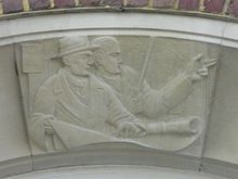 Carved Relief by Joseph Cribb at 20–22 Marlborough Place, Brighton (Architects).JPG