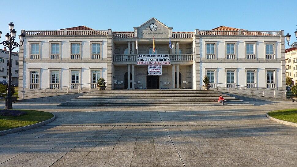 Casa do Concello de Salvaterra de Miño