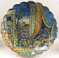 Casteldurante, bottega di andrea da negroponte, coppa baccellata, 1550-65 ca..JPG