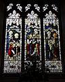 Castle Hedingham, St Nicholas' Church, Essex England, stained glass window south chapel.jpg
