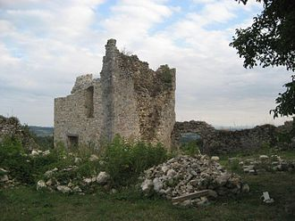 Zrinski family - Ruins of Zrin Castle, Croatia.