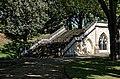 Catacomb columbarium City of London Cemetery, north steps 4.jpg