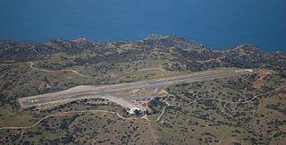 airport at Santa Catalina Island, California, United States