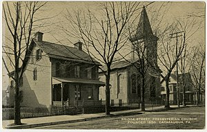 Catasauqua, Pennsylvania - The Bridge Street Presbyterian Church in Catasauqua