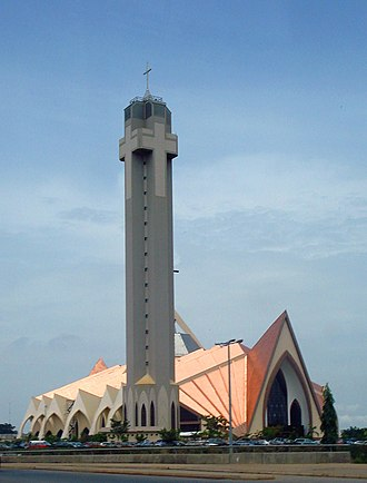 National Church of Nigeria, Abuja Catedral Nacional em Abuja, Nigeria.jpg