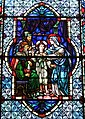 Cathedral Church of Saint Patrick (Charlotte, North Carolina) - stained glass, Christ among the doctors.JPG