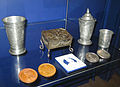 Catherine II's coronation tin tableware and silver medals (GIM) 01.jpg