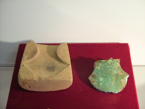 Cát Tiên archaeological site - Image: Cattien copper axe and mold