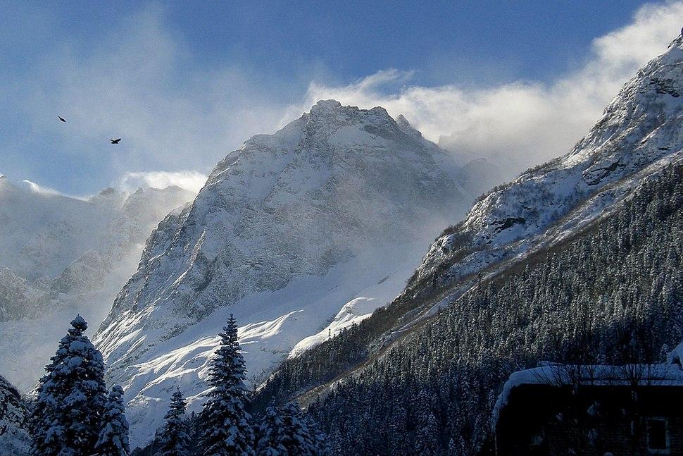 Caucasus, Russia (Dombay)