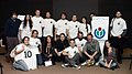 Celebración del 10° Aniversario de Wikipedia en Buenos Aires - Foto grupal.jpg