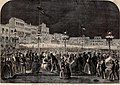 Celebration at Florence of the first Italian National Festival - ILN 1861.jpg
